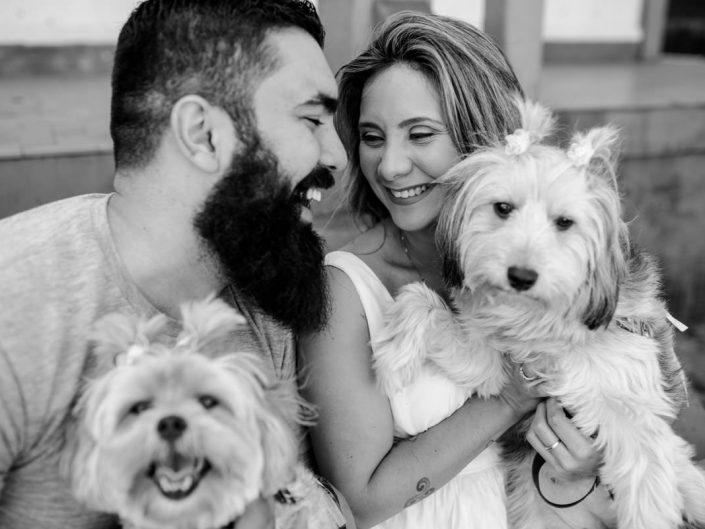 Ensaio com PET | Bel e Rae