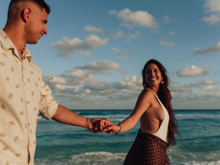 Ensaio Pré Casamento em Cancún | Gabi e Wemerson